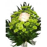 Buchet crizanteme santini